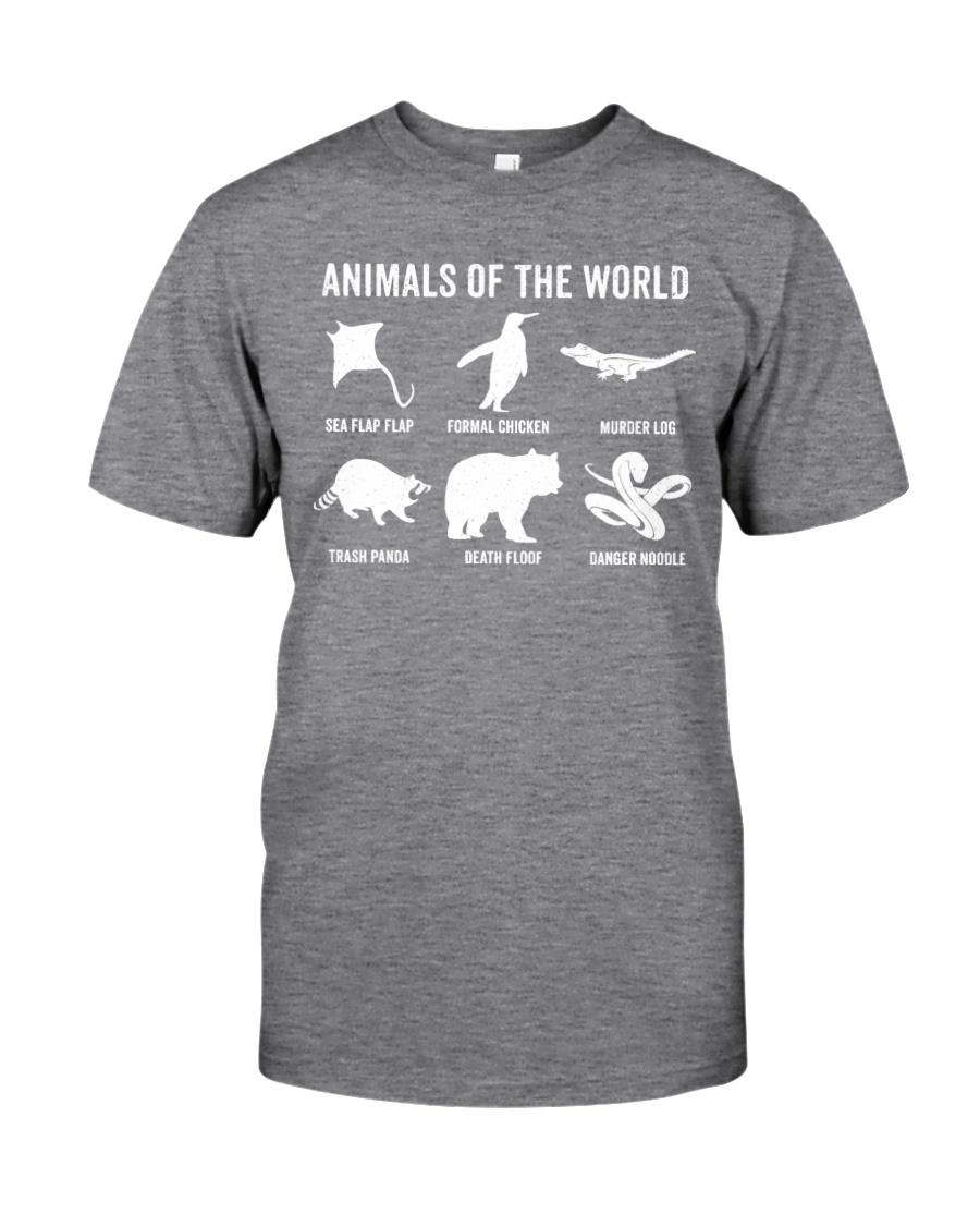 Trash Panda - Danger Noodle - Murder Log Shirt Classic T-Shirt