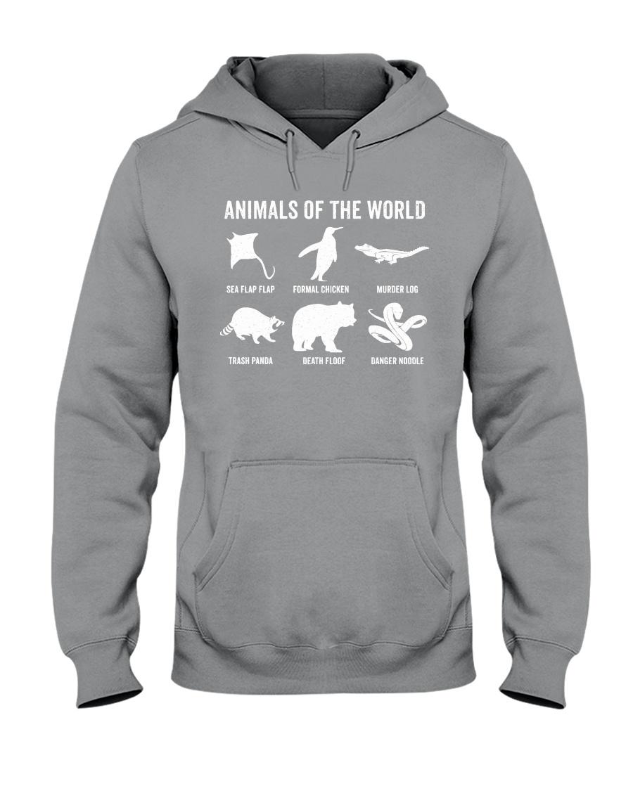 Trash Panda - Danger Noodle - Murder Log Shirt Hooded Sweatshirt