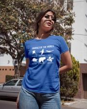 Trash Panda - Danger Noodle - Murder Log Shirt Ladies T-Shirt apparel-ladies-t-shirt-lifestyle-02