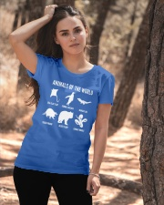 Trash Panda - Danger Noodle - Murder Log Shirt Ladies T-Shirt apparel-ladies-t-shirt-lifestyle-06