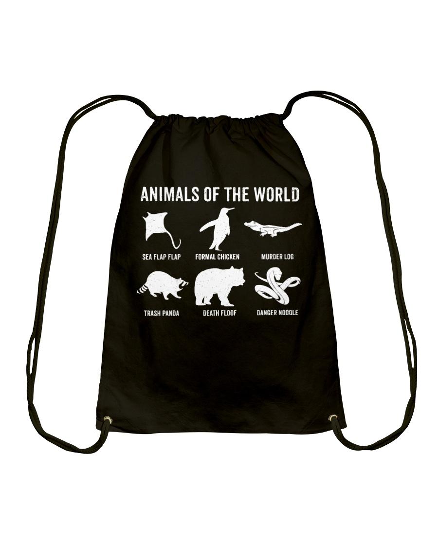 Trash Panda - Danger Noodle - Murder Log Shirt Drawstring Bag