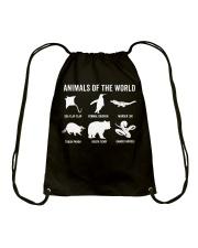 Trash Panda - Danger Noodle - Murder Log Shirt Drawstring Bag thumbnail