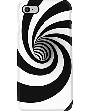 Hypnotic Spiral Wormhole All-Over Shirt Phone Case tile