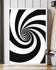 Hypnotic Spiral Wormhole All-Over Shirt 16x24 Poster lifestyle-poster-4