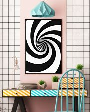 Hypnotic Spiral Wormhole All-Over Shirt 16x24 Poster lifestyle-poster-6