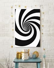 Hypnotic Spiral Wormhole All-Over Shirt 24x36 Poster lifestyle-holiday-poster-3
