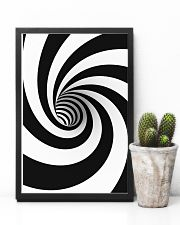 Hypnotic Spiral Wormhole All-Over Shirt 24x36 Poster lifestyle-poster-8
