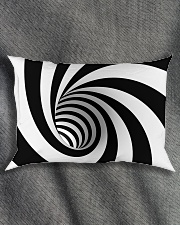 Hypnotic Spiral Wormhole All-Over Shirt Rectangular Pillowcase aos-pillow-rectangle-front-lifestyle-1
