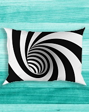 Hypnotic Spiral Wormhole All-Over Shirt Rectangular Pillowcase aos-pillow-rectangle-front-lifestyle-5
