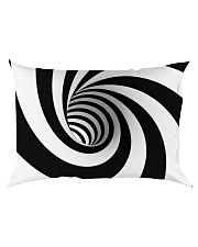 Hypnotic Spiral Wormhole All-Over Shirt Rectangular Pillowcase back