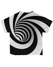 Hypnotic Spiral Wormhole All-Over Shirt All-over T-Shirt back