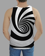 Hypnotic Spiral Wormhole All-Over Shirt All-over Unisex Tank aos-tank-unisex-lifestyle01-back