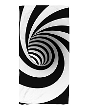 Hypnotic Spiral Wormhole All-Over Shirt Beach Towel tile
