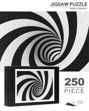 'The Void' spiral wormhole jigsaw puzzle 250 Piece Puzzle (horizontal) aos-jigsaw-puzzle-250-pieces-horizontal-lifestyle-front-19