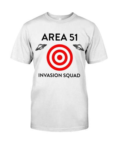 Area 51 Invasion Squad shirt