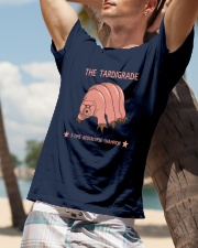 THE TARDIGRADE - 5 time apocalypse champion shirt Classic T-Shirt lifestyle-mens-crewneck-front-9