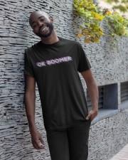 OK Boomer shirt - coffee mug - hoodie - more Classic T-Shirt apparel-classic-tshirt-lifestyle-front-33
