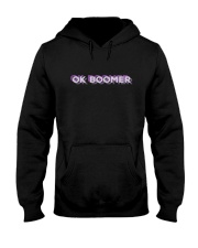OK Boomer shirt - coffee mug - hoodie - more Hooded Sweatshirt thumbnail