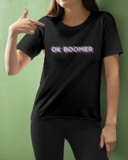 OK Boomer shirt - coffee mug - hoodie - more Ladies T-Shirt apparel-ladies-t-shirt-lifestyle-front-10