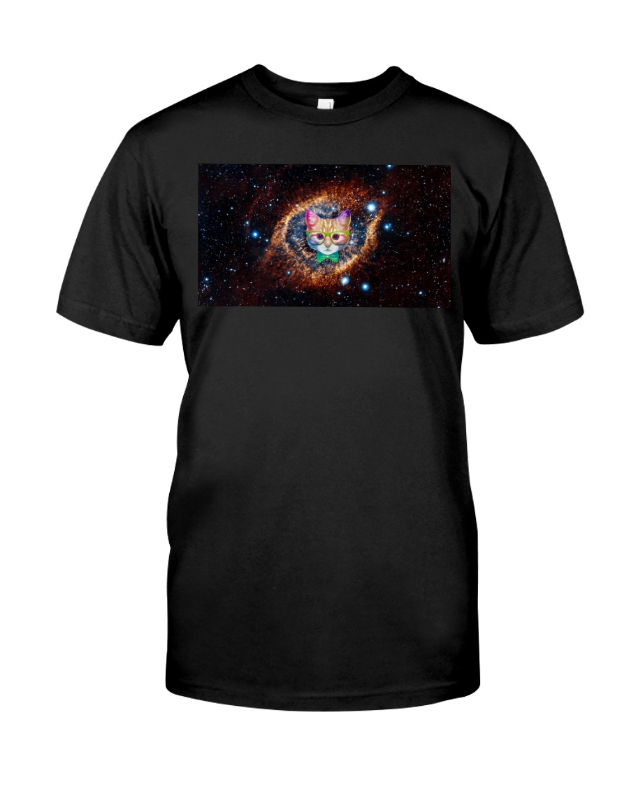 Rainbow Academicat Facemask and Shirts Classic T-Shirt