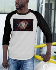 Rainbow Academicat Facemask and Shirts Baseball Tee apparel-baseball-tee-lifestyle-12