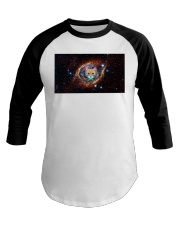 Rainbow Academicat Facemask and Shirts Baseball Tee thumbnail
