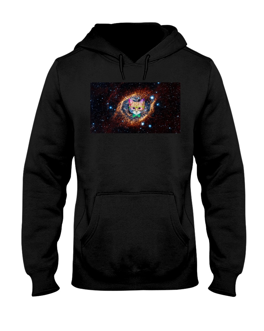 Rainbow Academicat Facemask and Shirts Hooded Sweatshirt