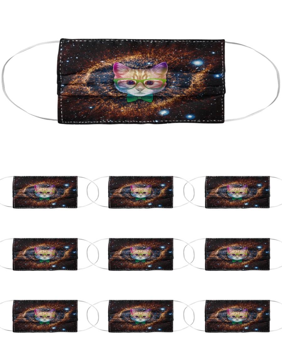 Rainbow Academicat Facemask and Shirts Cloth Face Mask - 10 Pack