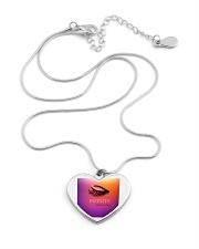 Fashion Jewellery Design Metallic Heart Necklace aos-necklace-heart-metallic-lifestyle-03