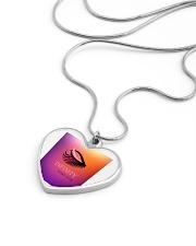 Fashion Jewellery Design Metallic Heart Necklace aos-necklace-heart-metallic-lifestyle-05