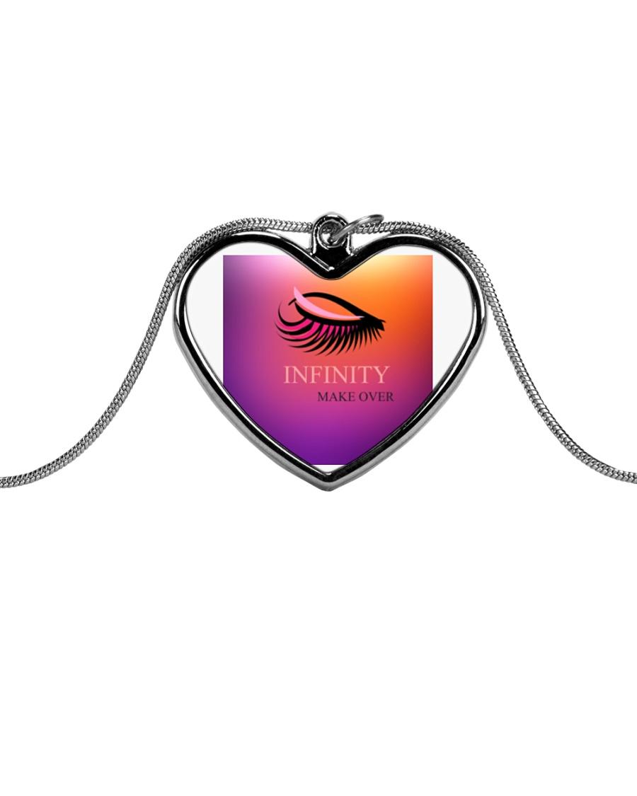 Fashion Jewellery Design Metallic Heart Necklace