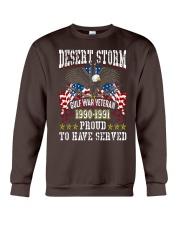 Desert Storm Gulf War Veteran Crewneck Sweatshirt thumbnail