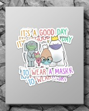 Teacher Good day to wear a mask Sticker - 8 pack (Vertical) aos-sticker-8-pack-vertical-lifestyle-front-09