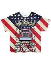 Trucker Title All-over T-Shirt front