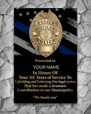 Police We thank you 24x36 Poster aos-poster-portrait-24x36-lifestyle-13