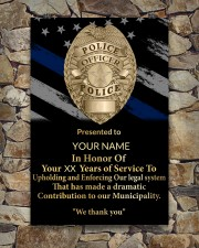 Police We thank you 24x36 Poster aos-poster-portrait-24x36-lifestyle-16