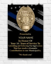 Police We thank you 24x36 Poster aos-poster-portrait-24x36-lifestyle-17