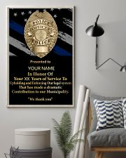 Police We thank you 24x36 Poster lifestyle-poster-1