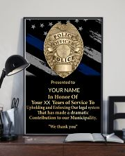 Police We thank you 24x36 Poster lifestyle-poster-2