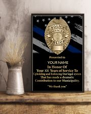 Police We thank you 24x36 Poster lifestyle-poster-3