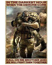 Veteran In the darkest hour 24x36 Poster front