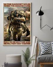 Veteran In the darkest hour 24x36 Poster lifestyle-poster-1