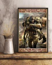 Veteran In the darkest hour 24x36 Poster lifestyle-poster-3