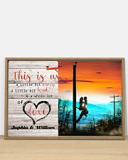 Lineman This is us 36x24 Poster poster-landscape-36x24-lifestyle-03