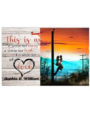 Lineman This is us Horizontal Poster tile