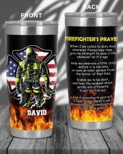 Firefighter's Prayer  20oz Tumbler aos-20oz-tumbler-lifestyle-front-52