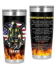 Firefighter's Prayer  20oz Tumbler front