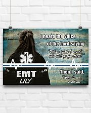 EMT I heard the voice of the Lord 36x24 Poster poster-landscape-36x24-lifestyle-16