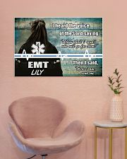 EMT I heard the voice of the Lord 36x24 Poster poster-landscape-36x24-lifestyle-19