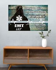 EMT I heard the voice of the Lord 36x24 Poster poster-landscape-36x24-lifestyle-21